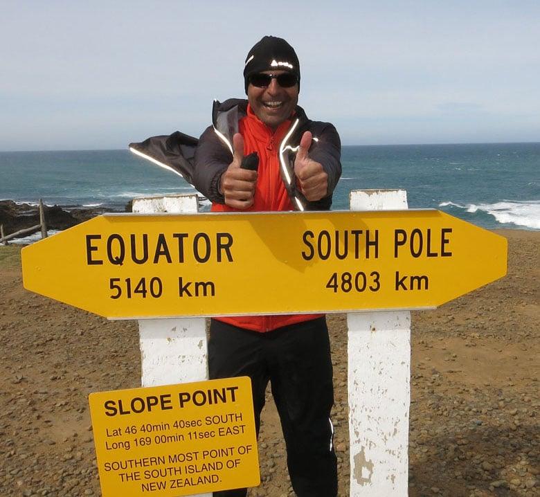 Markus Platzer in Neuseeland